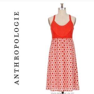 Anthropology Fei flower dress size
